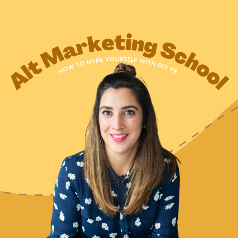 #038 – How to hype yourself and master DIY PR with Lucy Werner