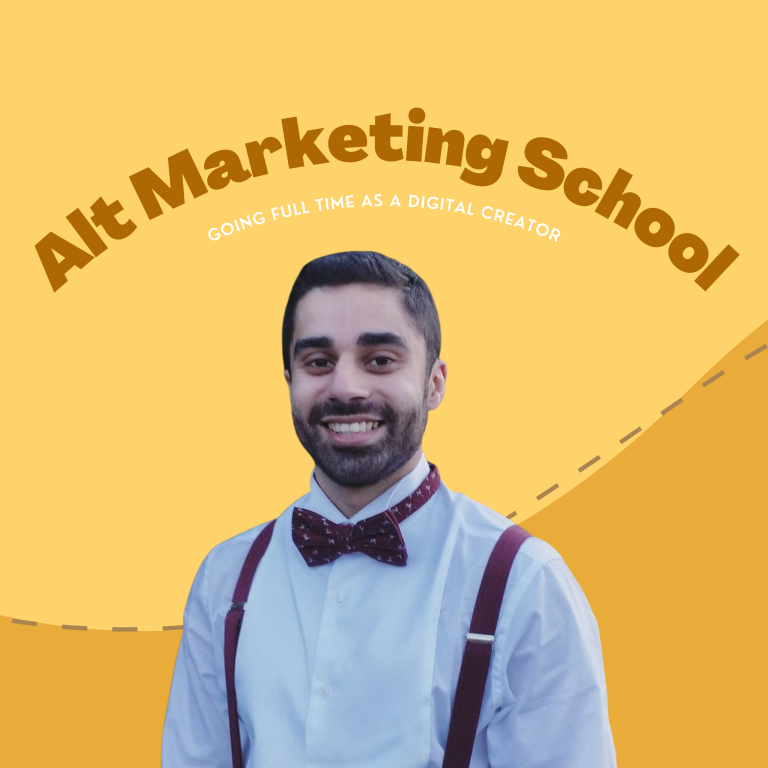#049 – Going full-time as a digital creator with Amardeep Parmar